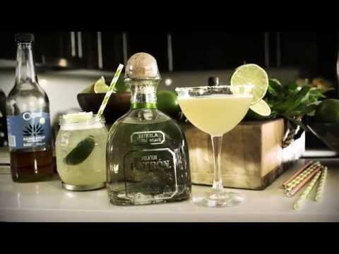 Video Patron Tequila | How to Mix Margarita | Drinks Network