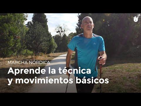 Aprende la técnica y los movimientos básicos   Marcha nórdica