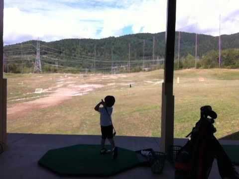 Jayden 'Tiger' Zhang - Future Golf Star - Great Swing