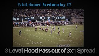 Whiteboard Wednesday E7: 3 Level Flood Pass out of 3×1