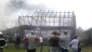 preview picture of video 'Pożar w Nowej Białej cz.4'