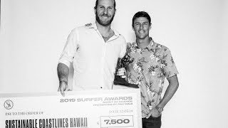 Sustainable Coastlines Hawaii Wins Agent of Change Award Presented by PAU Maui  | SURFER Awards 2019