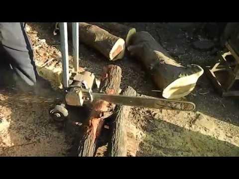 Trolley Chain Saw Machine