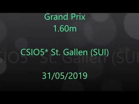 Inonstop van 't Voorhof - GP 1.60m - CSIO5* St. Gallen (SUI)