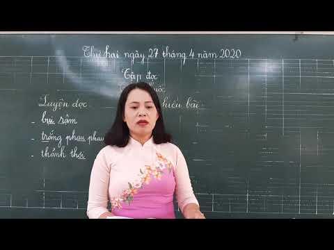 Môn Tập đọc lớp 2, bài Cò và Cuốc (GV Võ Thị Ngọc Bích, Trường TH C Phú Mỹ)