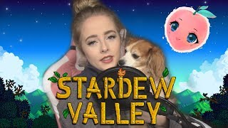 Playing Stardew Valley to help with my Anxiety