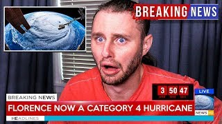 Hurricane Florence is about to hit my house...