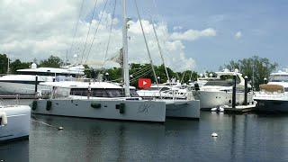 Walkthrough of a Sunreef 62 Catamaran just sold by The Catamaran Company Part 2 Exterior Features