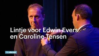 Edwin Evers en Caroline Tensen in tranen door lint - RTL NIEUWS