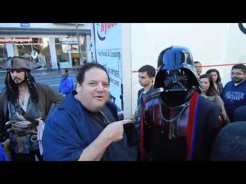 Star Wars The Force Awakens Premier With Grunberg