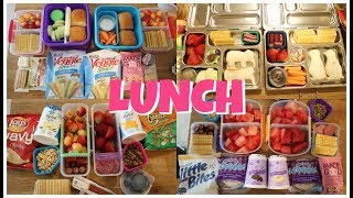 Summer Camp/School Lunch Ideas! 🍎  Week 19 | Sarah Rae Vlogas |