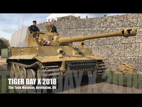 Tiger Day X 2018 - The Tank Museum, Bovington, UK