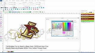 Productivity Digitizing - Tajima DGML by Pulse Embroidery