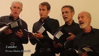 Ruvo Coro Festival 2018 – Voci di Pace – 3 ottobre 2018 – Ferrara Shalom Ensemble