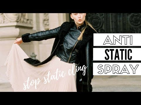 Make Your Own Anti-Static Spray - Simple DIY