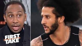 Colin Kaepernick got caught up in his feelings and threw his knowledge away -Stephen A. | First Take