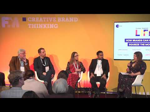 PANEL: Living Life 2.0: How brands can help consumers squeeze the most out of life