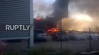 Australia: Shopping centre in flames after Melbourne plane crash kills five
