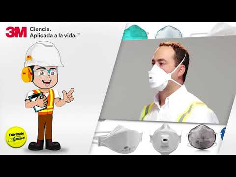 ENTRENÁTE ENCISO Respirador Desechable de 3 Paneles