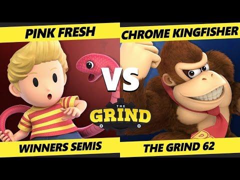 Smash Ultimate Tournament - Pink Fresh (Lucas) Vs  Parappa