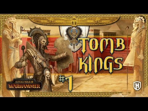 Guys, there's a Tomb Kings faction Overhaul mod, and it looks