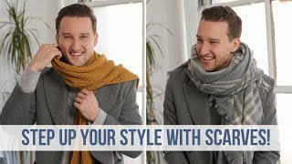 Fashionable Ways To Style 5 Different Scarves This Fall Season | Men's Fashion