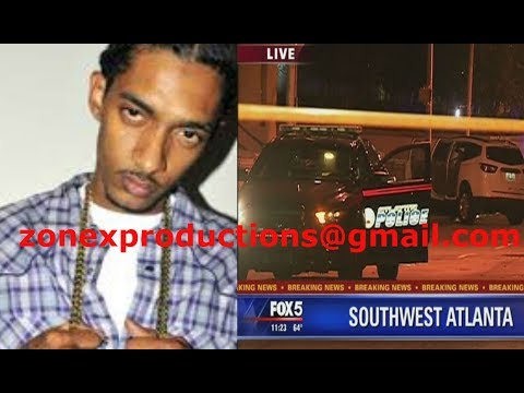 Nipsey Hussle SHOT at in East Atlanta after bein BANNED by 21 savage