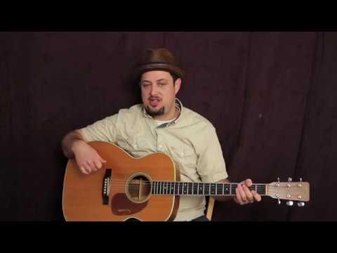 Guitar Chords D, E minor, & G . (Easy Acoustic Guitar strummer)