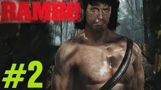 Rambo The Video Game Walkthrough Chapter 2 (1985) - Rambo Videogame 2014 Gameplay Part 2