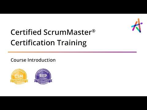 CSM® Certification | Certified ScrumMaster® Online Training by ...