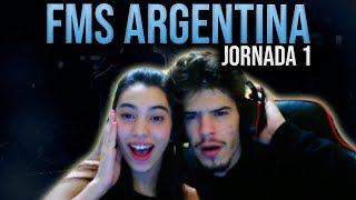 Reacciones EN DIRECTO 🔥 FMS ARGENTINA - Jornada 1 #FMSCORDOBA