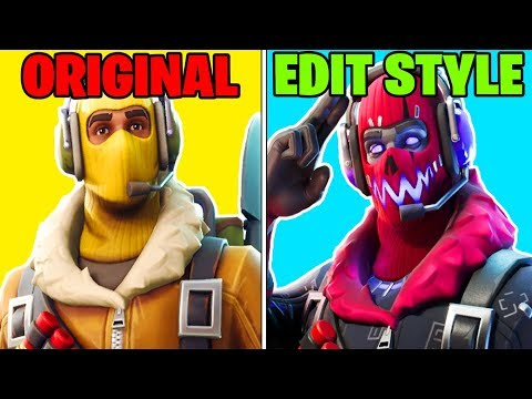 BAD SKINS SAVED BY *NEW* EDIT STYLES! | Fortnite Battle Royale!