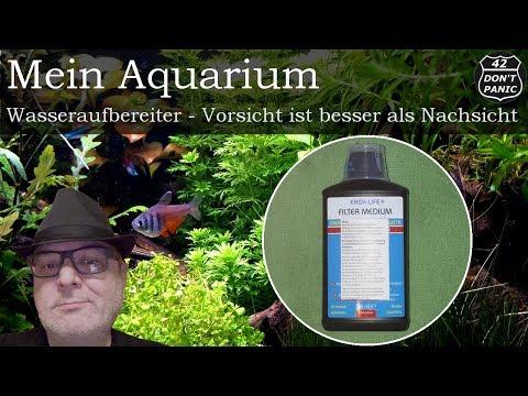 Wasseraufbereiter - Vorsicht ist besser als Nachsicht | Mein Aquarium 58