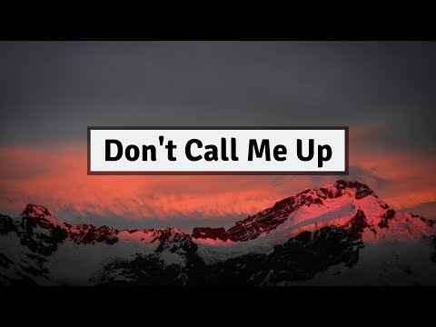 Mabel - Don't Call Me Up (Lyrics) | Panda Music
