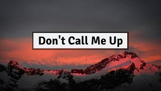 Mabel   Don't Call Me Up (Lyrics) | Panda Music
