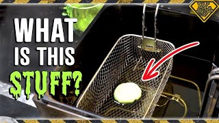 OOBLECK vs DEEP FRYER! TKOR Talks Science Behind Oobleck And Cool DIY Experiments You Can Do With It
