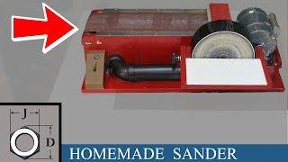 Finishing The Homemade Belt / Disc Sander