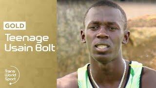 Teenage Usain Bolt | Trans World Sport
