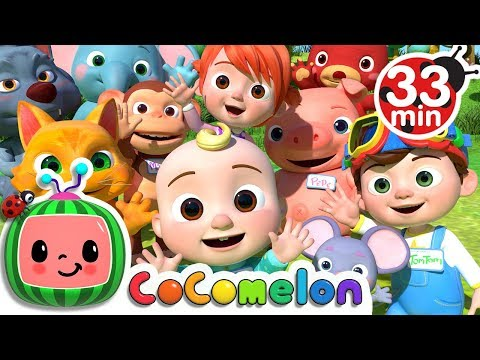My Name Song | +More Nursery Rhymes & Kids Songs - Cocomelon (ABCkidTV)