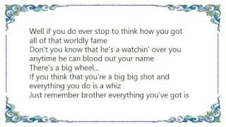 Ferlin Husky - There's a Big Wheel Lyrics