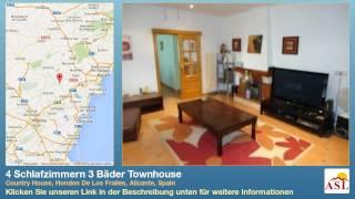 preview picture of video '4 Schlafzimmern 3 Bäder Townhouse zu verkaufen in Country House, Hondon De Los Frailes, Alicante'