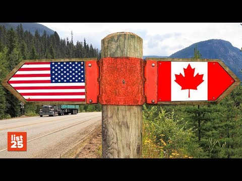25 FUNNY Differences Between Canadians and Americans