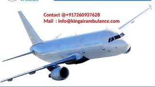 Get Affordable King Air Ambulance Services in Bhopal and Allahabad