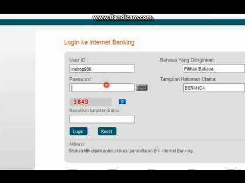 Cara Ganti Password Internet Banking Bni
