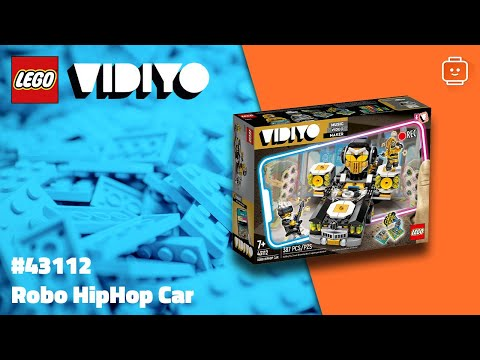 Vidéo LEGO VIDIYO 43112 : Robo HipHop Car