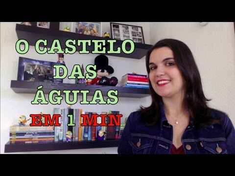 LIVRO EM 1 MINUTO: O Castelo das Ãguias (Ana Lucia Merege) | Leitora na Holanda