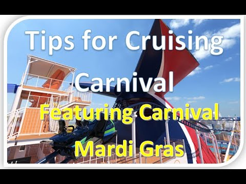 Cruise Tips ft Carnival Cruise Lines