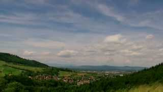 preview picture of video 'Zeitraffer / Freiburg / Merzhausen'