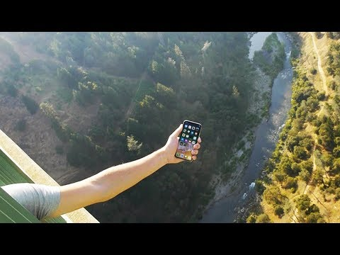 IPhone X Vs Tallest Bridge 1000 FT. Drop Test - What Will Happen? Mp3