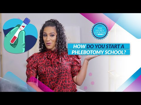 How do you start a phlebotomy school? - YouTube